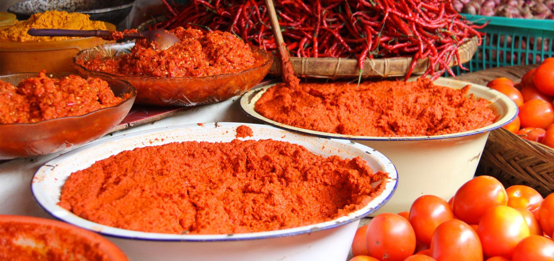 Marché indonésie, marché Sumatra