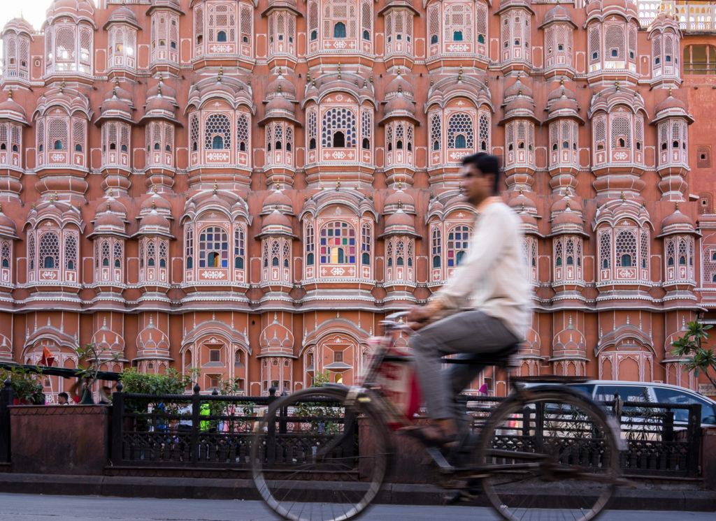 Palais des vents Jaipur Inde Rajasthan - Hawa Mahal Jaipur Inde Rajasthan
